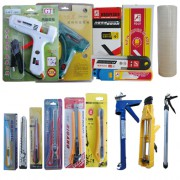 胶类工具、热熔胶枪、啄木刀片、美工刀、美纹纸、津贺胶枪