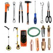 手动工具喷嘴测距仪多功能万用表、割嘴、导电嘴、铁皮剪、螺丝刀