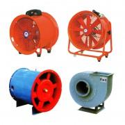 SHT手提式风机-移动式风机-排气扇-FC6-48纺织排尘
