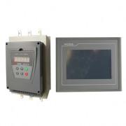 变频器:软启动器、触摸屏