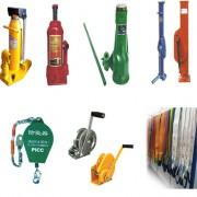 附爪式、油压式、螺旋式千斤顶、手摇跨顶、防坠器、捆线器系列