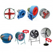 圆型排风扇锅炉引风机离心式风机防爆轴流风机轴流风机工业风扇