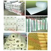 防火布 硅酸丝铝 玻璃纤维布 防静电橡胶板 羊毛毡 岩棉管