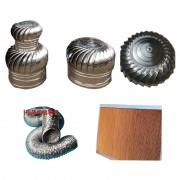 工业风机风扇系列-订做降温水帘-铝箔伸缩软管