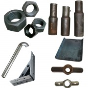 钢管接头--六角母--排气孔-大理石架--杠母杠板