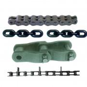 板式链-重载弯板传动链-提升、起重链条-加长肖链条