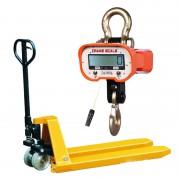 液压拖车-电子吊秤
