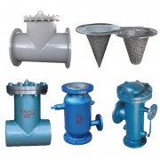 T型直角对焊-法兰连接式过滤器-自动反冲洗水-直通式自动排污