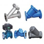 衬氟V型电动调节球阀-Y型过滤器-Y型-焊制Y型-衬氟Y型