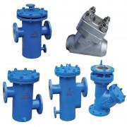 高低接管蓝-单桶直立-衬氟蓝式-Y型拉杆伸缩-高压过滤器