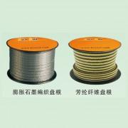 膨胀石墨编织盘根-芳纶纤维盘根