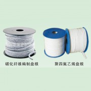 碳纤维编制盘根-聚四氟乙烯盘根