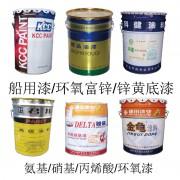 船用漆、环氧富锌、锌黄底漆、氨基、硝基、丙烯酸